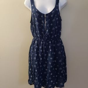 Size L Anchor Summer Dress